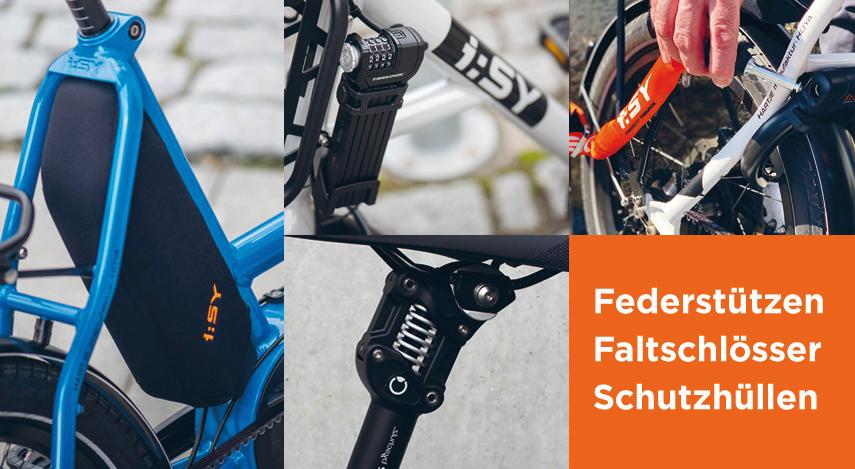 Federstützen, Faltschlösser, Schutzhüllen für Fahrräder in Grevenbroich