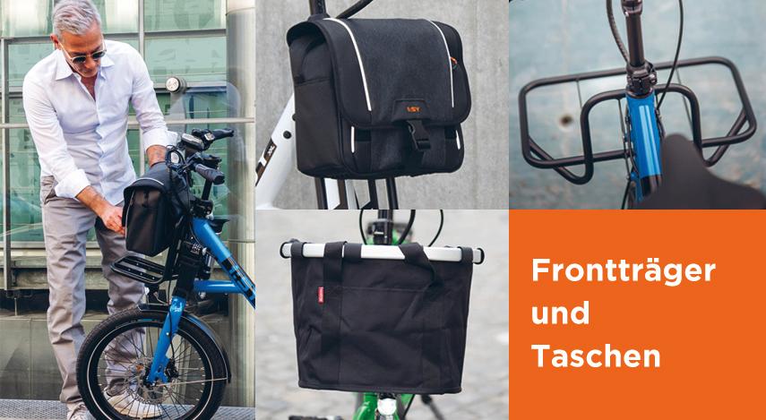 Frontträger und Taschen für Fahrräder in Grevenbroich
