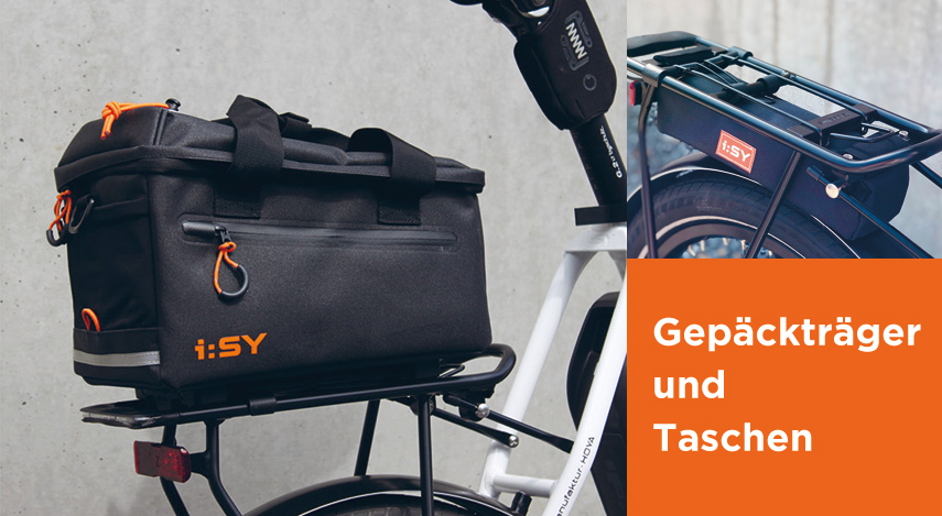 Gepäckträger und Taschen für Fahrräder in Grevenbroich