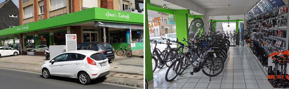 Griesi´s Radtreff, Fahrräder in Grevenbroich Wevelinghoven